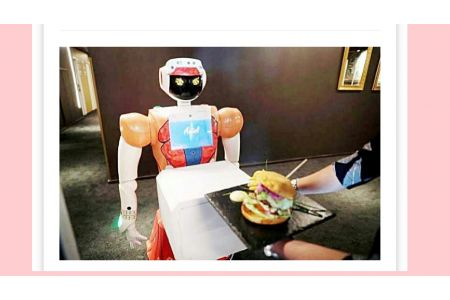 Robot Operates In A Hotel In South Africa