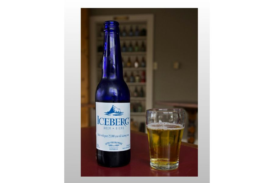 Iceberg Beer re-entered the market [Available in both Strong and Premium brands]