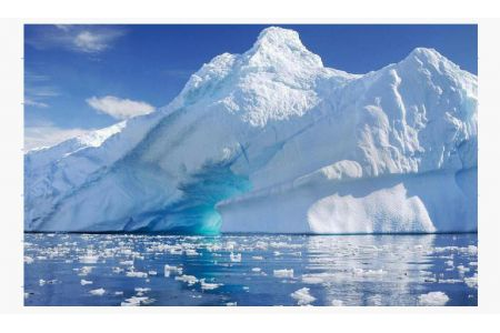 Largest Iceberg in the world fell apart